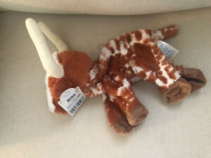 Build-A-Bear Texas LONGHORN Cow Plush