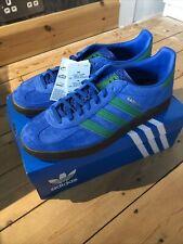 Adidas Gazelle Indoor UK9.5 9 1/2 EE5735 Lus Blue Suede Gum Originals Shoes Og