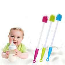 1PC Silicone Long Handle Wash Cup Brush Baby Milk Bottle Brush Glass Cleaner
