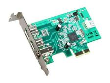 StarTech 3 Port 2b 1a Low Profile 1394 PCI Express FireWire Card Adapter Model P