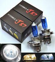 Halogen 9003 HB2 H4 60/55W 5000K White Two Bulbs Head Light Plug Play Replace OE