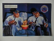 1996 Print Ad Camel Cigarettes ~ Joe Camel Kick Back and Watch TV ART