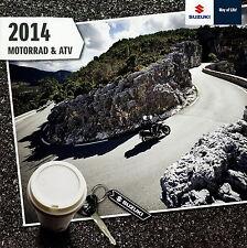 Suzuki Brochure 2014 Motorcycle Brochure Motorcycle Quad ATV gsxr1000 rm85 VANVAN