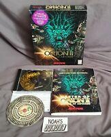 Master of Orion 2 II: Battle at Antares Original MicroProse PC Big Box Game RARE