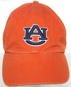 VTG Auburn Tigers Orange Fitted Cap Sz Medium Twins Enterprise The Franchise Hat