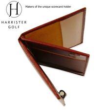 Premium Real Leather Unique Harrister Scorecard Holder