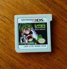 Luigi's Mansion: Dark Moon (Nintendo 3DS, 2013) Tested, Good Cond. Cart Only