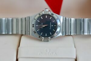 Omega Constellation 1572.40 25.5mm Ladies Steel with Grey Dial Serviced