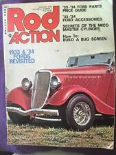 Rod Action Magazine January 1976- '33 & '34 Fords Revisited