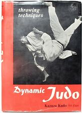 Dynamic Judo: Throwing Techniques by Kazuzo Kudo 1967 Illustrated 1st Ed