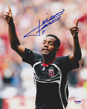 Luciano Emilio Signed 8x10 Photo Dc United *Very Rare* Psa/Dna Autographed