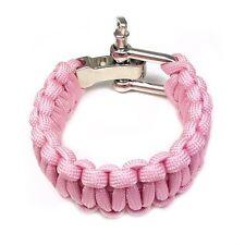 Breast Cancer Survivor Paracord Bracelet
