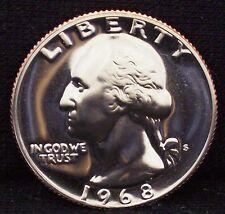 1968-S Proof Washington Quarter - Beautiful Coin!