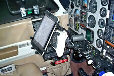 """RAM X-Grip Aviation Yoke  Mount for 10"""" Tablets, With/Without Case or Sleeve"""