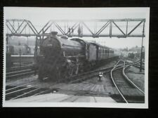 POSTCARD BI CLASS LOCO NO 61175 AT DONCASTER 1960