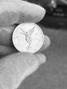 2020 Mexico 1/4 oz Libertad Silver Coin BU