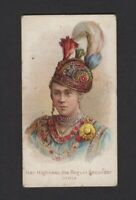 1889 N189 W.S. Kimball & Co. Savage & Semi-Barbarous Her Highness the Begum