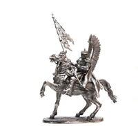 Cavalry 1:32 Scale Poland. Winged Hussar XVII century tin figure 54mm REBUILD