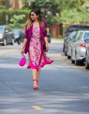 Zara Co-Ord Set Top y Falda Midi Talla S