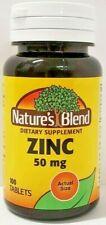 Natures mistura Gluconato de Zinco 50 Mg com 100 Comprimidos-Data de Vencimento 04-2023