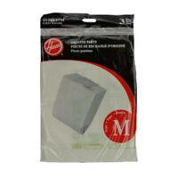 Hoover M Vacuum Bags Part 4010037M 3 Pack Genuine
