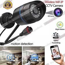 HD 1.0MP 720P Wireless WIFI IP Camera Outdoor Network ONVIF SD Card #MR22