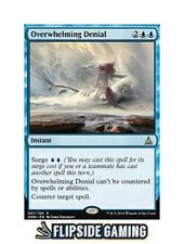 4x Overwhelming Denial (Oath of the Gatewatch) SP or Better ~Flipside2~