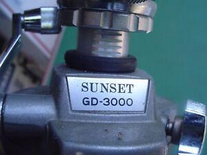 Sunset GD-3000 Camera or Video Tripod