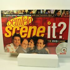 Seinfeld TV Game Scene It? The DVD Game Adult 2 or more Players Mattel New