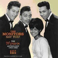 The Monitors - Say You: Motown Anthology 1963 - 1968 [New CD] UK - Import