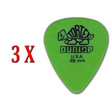 Dunlop Tortex Standard PLektrum 0,88 mm 3 Stück
