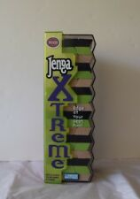 JENGA XTREME BY HASBRO/PARKER BROTHERS - VINTAGE WOODEN STACKING GAME  2003