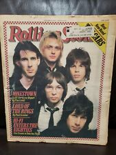 The Cars  Rolling Stone Magazine Back Issue #283 Jan 25, 1979