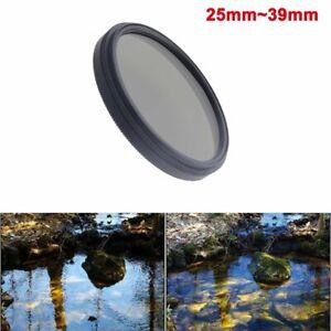 25mm 27mm 28mm 30mm 30.5mm 34mm 35.5mm 39mm Camera Polarizer CPL lens filter