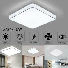 Bright Square LED Ceiling Down Light Panel Wall Kitchen Bedroom Lamp Cool White