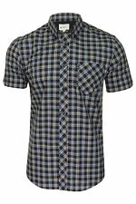 Ben Sherman Mens Short Sleeved Checked Shirt