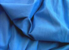 Cotton Stretch Twill Fabric - Mid Blue Shade - 125cm Wide - New by Dcf