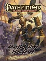 Pathfinder Player Companion: Martial Arts Handbook Staff, Paizo Paperback Used