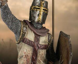 Templar's Reign Resin Model Kit Unpainted Statue Knight's Templar Dead Zombie