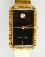 For Parts Repair 1970's N4 17j 6CL Movement Bulova Ladies Dress Wrist Watch Vtg