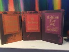 THE LORD OF THE RINGS J.R.R. TOLKIEN 1965 REVISED 2nd EDITION 3 SET BOOKS