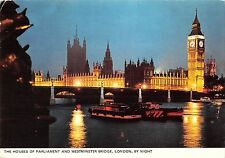 BR90408 the houses of parliament and westminster bridge london  uk