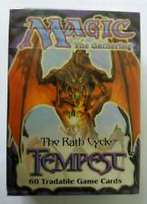 Magic the Gathering MTG sealed Tempest starter/tournament deck English