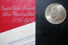 """SILVER 1976-S  """"S-PROOF"""" ISSUE, 1976-S BiCENTENNIAL LARGE DOLLAR w/ Case  #4"""