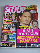 MAGAZINE SCOOP N° 29 . JOHNNY DEPP . ANGELINA JOLIE .