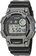 Casio W735H-1A3V, Digital Watch, Countdown Timer, Stopwatch, Vibration Alarm