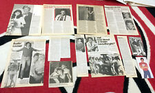GREGG MARX 59-PIECE CLIPPINGS LOT As the World Turns Days of Our Lives ATWT Soap