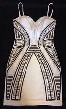 Geometric Regular Size Sleeveless Sequin Dresses for Women