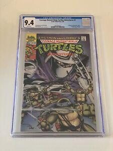 Teenage Mutant Ninja Turtles Adventures #1 Archie Comics CGC 9.4 NM 1st Print