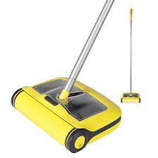 MANUAL FLOOR SWEEPER BRUSH  DUSTER BROOM CORDLESS FLOOR CLEANER